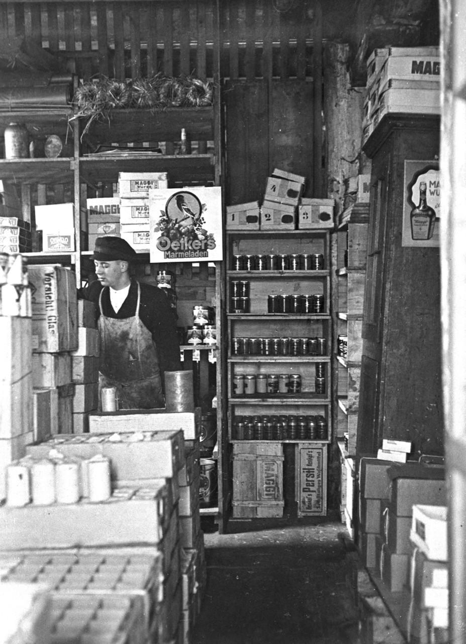Sonninstraße Nr. 22 - Fa. Wehrhagen, Marmeladenlager, 1928.