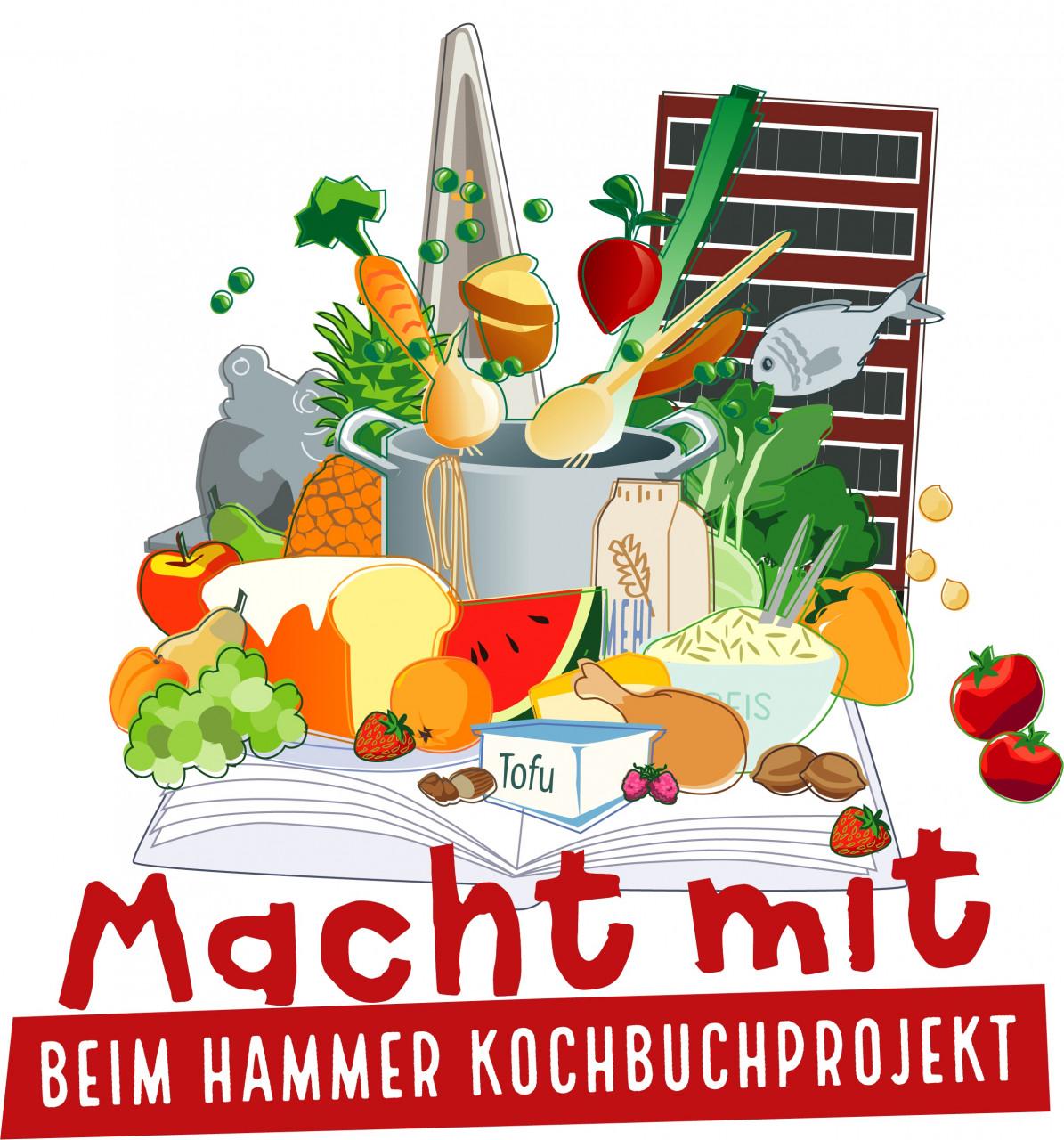Kochbuch-Plakat