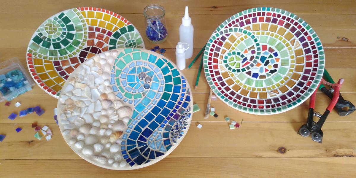 Mosaikteller ©Monika Seif