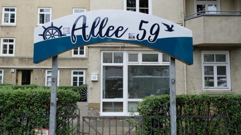 Ein neuer Treffpunkt im Stadtteil: Allee 59